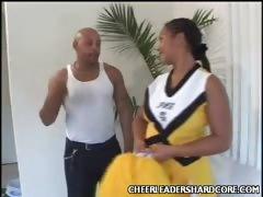 Big Ass Cheerleader Stripping