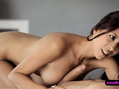 Petite Asian chic Paula Shy loves 69 position and doggystyle