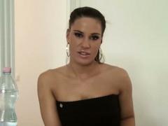 Hot secretary gets her pussy banged hard